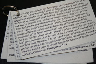 A. Scripture Cards